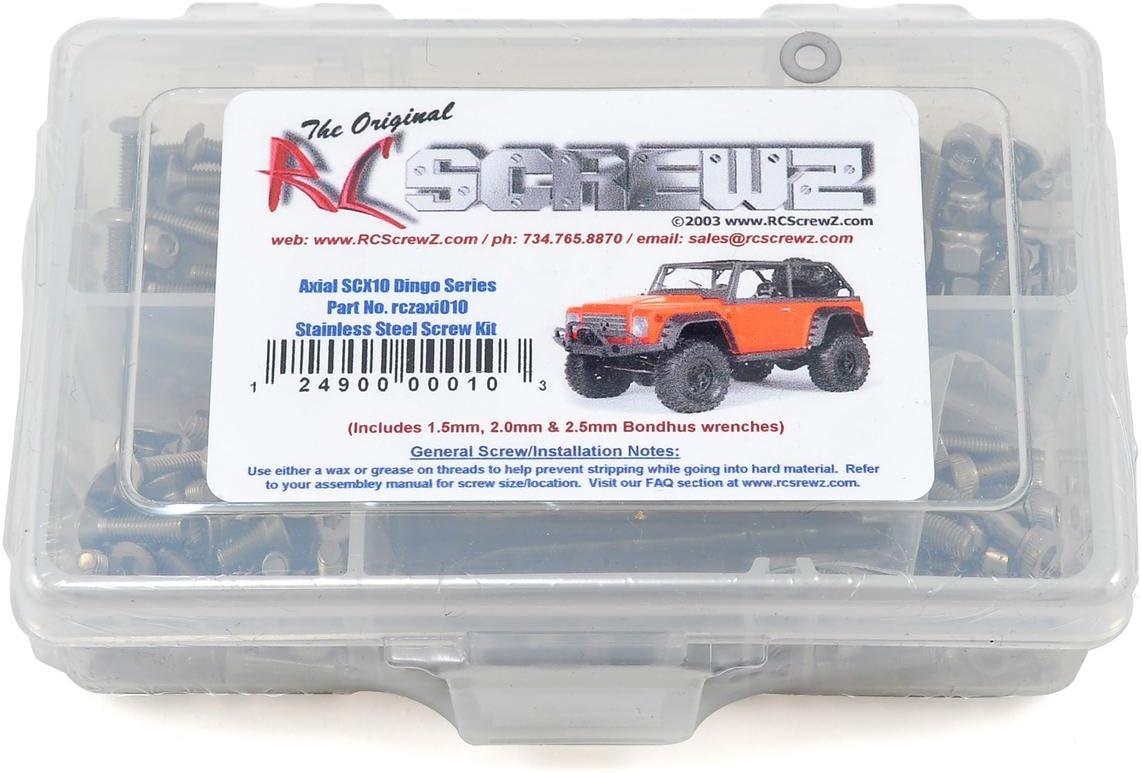 RC Screwz Stainless Steel Screw Kit Axial Capra 1.9