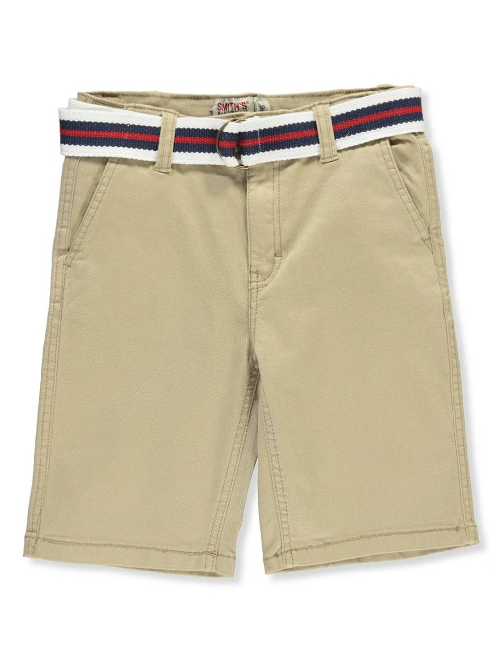 Smith's American Boys' Belted Shorts 12 Smith' s American
