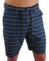 Men's Boardshorts or Swim Trunks, Perfect to be worn as Men's Athletics Shorts, Men's Golf Shorts or Men's Swim Shorts (Plaid)