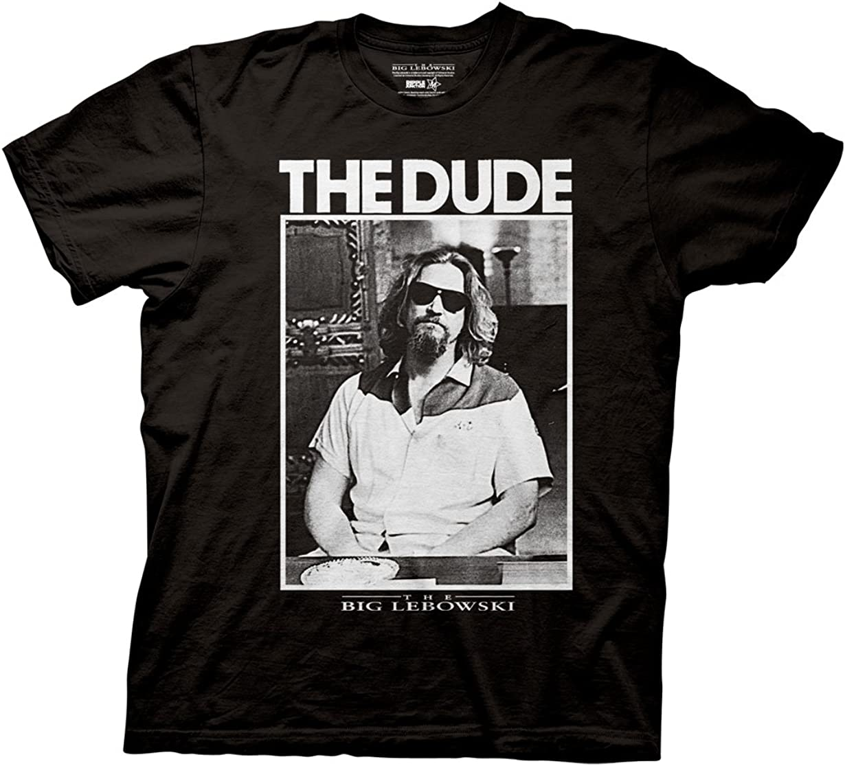 Ripple Junction Big Lebowski Dude Photo Adult T-Shirt