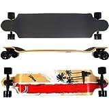 Longboard maxofit ® tres cruces Long beach 06 104 cm - 9 couches érable canadien, drop down 41 x 9