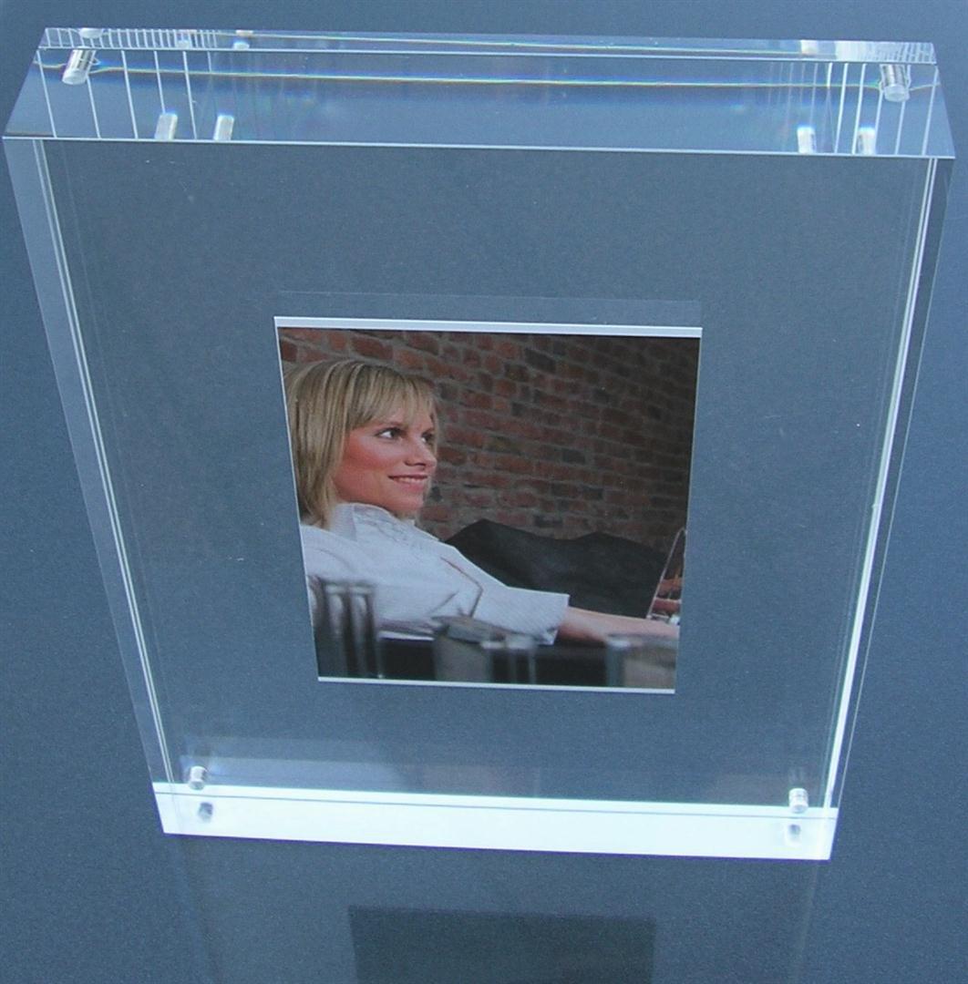 Acrylglasrahmen / Acrylglas-Rahmen / Acryl-Bilderrahmen, Aufstell ...