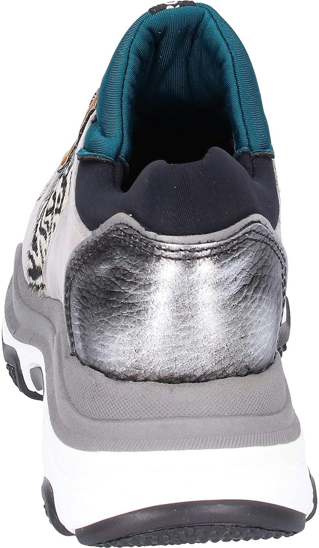 Amazon.com | Bronx Womens Light Grey/Zebra Baisley Chunky Sneakers | Fashion Sneakers