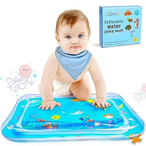 Estera Inflable de Agua Bebé Alfombra Inflable con Agua PVC Grueso, Inflatable Baby Water Mat Estera del Juego del Agua para Bebés y Niños, Juego de ...