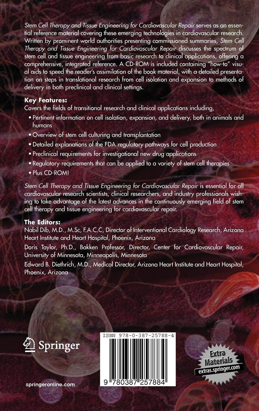 Stem Cell Therapy and Tissue Engineering for Cardiovascular
