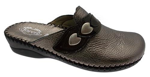 Loren - Zapatillas de Estar por casa para Mujer Beige TóRTOLA: Amazon.es: Zapatos y complementos