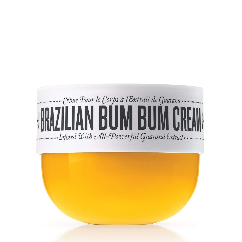 Sol de Janeiro Brazilian Bum Bum Cream 75ml and Brazilian Touch Hand Cream 1.7 oz 50 ml – Featuring a Gute Carrying Cosmetic Bag 3 piece bundle
