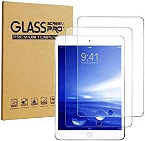 iPad Mini Screen Protector, [2-Pack] Sincase 2.5D Curved Edge HD Premium iPad mini 2/3 Tempered Glass Screen Protector Crystal Clear 9H 0.26mm Anti-Scratch Shatterproof Bubble-free Screen Film