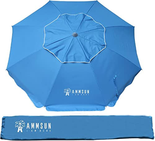 AMMSUN 6.5ft Patio Outdoor Umbrella