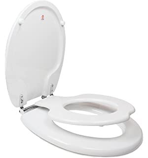 Sensational Bemis 483Slow Round Nextstep White Slow Closing Potty Seat Andrewgaddart Wooden Chair Designs For Living Room Andrewgaddartcom