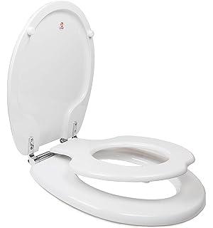 Miraculous Bemis 483Slow Round Nextstep White Slow Closing Potty Seat Bralicious Painted Fabric Chair Ideas Braliciousco