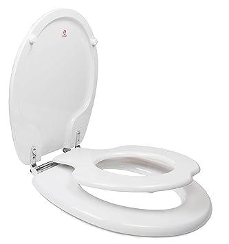 family toilet seat wood. TOPSEAT TinyHiney Potty Round Toilet Seat  Adult Child w Slow Close Chromed