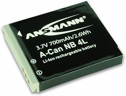 Ansmann 5022263 A Can Nb 4 L Li Ion Digicam Ersatzakku Kamera