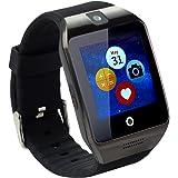 "Tera Apro Pulsera Reloj Inteligente GSM NFC Podómetro Selfie Control Remoto con Pantalla Táctil 1,54"" Compatible con Smartphone iOS iPhone Android Samsung"