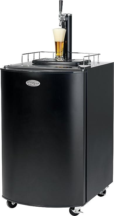 Nostalgia KRS2100 5.1 Cu.Ft. Full Size Kegorator Draft Beer Dispenser