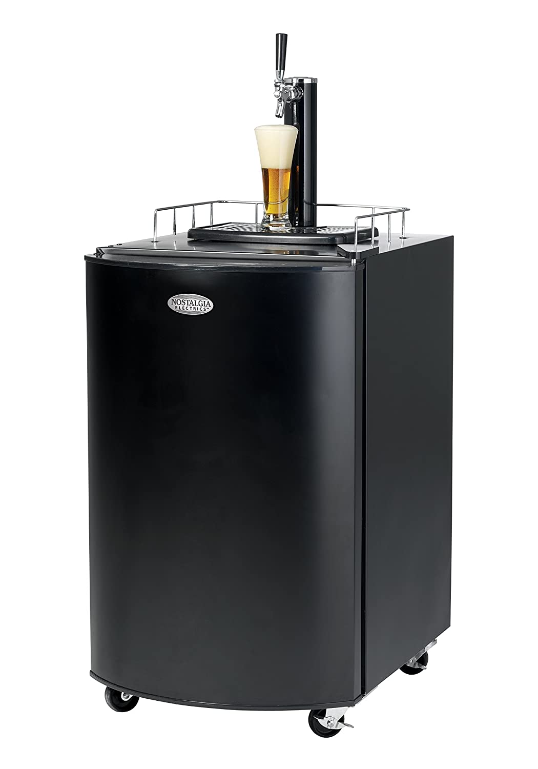 B000HJVYDQ Nostalgia KRS2100 5.1 Cu.Ft. Full Size Kegorator Draft Beer Dispenser 71aGbXYK89L