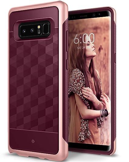 huge discount 4a680 e918f Caseology Parallax for Galaxy Note 8 Case (2017) - Award Winning Design -  Burgundy