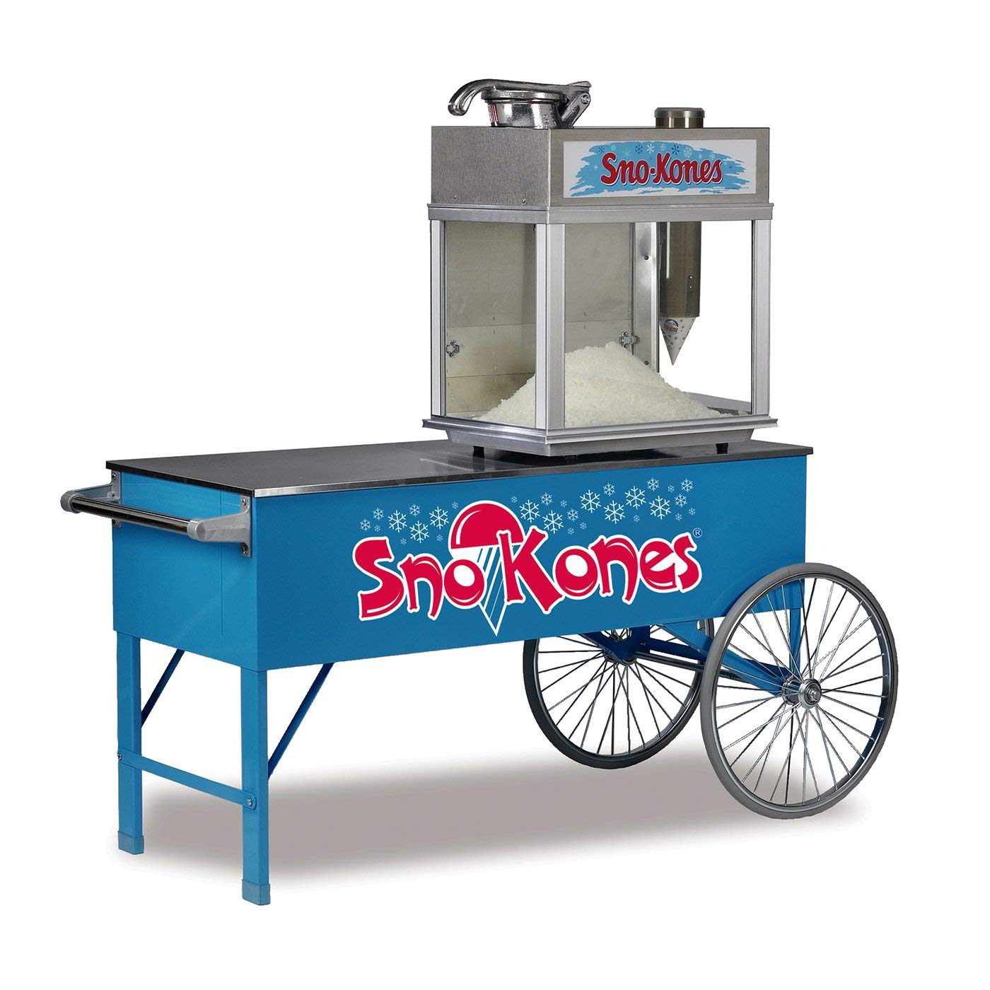 Two-Wheel SNO-Kone Cart | by Gold Medal | 3150SK by Popcorn Supply Company