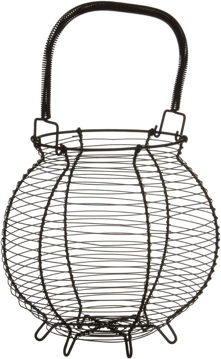 Premier Housewares - Huevera (alambre de hierro), negro