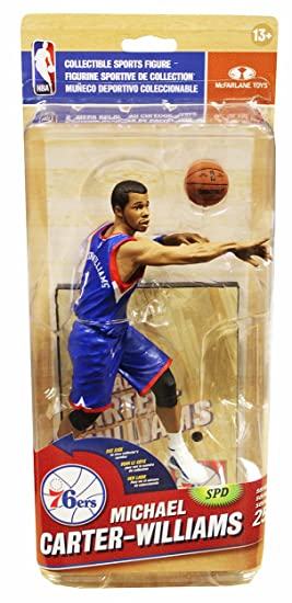 Philadelphia 76ers NBA Series 25 Figure: Michael Carter-Williams (Blue Variant)