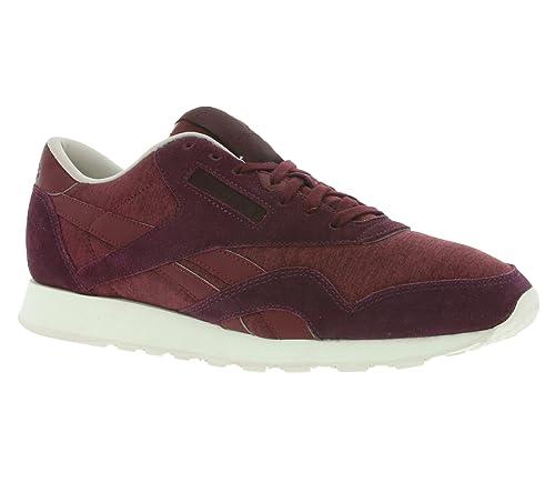Reebok Zapatillas de Deporte de Lona Hombre, Morado (Morado), 45,5: Amazon.es: Zapatos y complementos