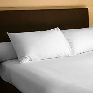 Lavish Home 100-Percent 300 Thread Count Egyptian Cotton Sheet Set, King, White