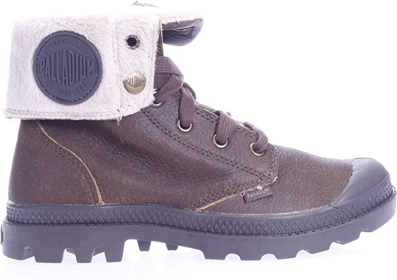 Bottine 37 Fourree Pilot 049 95121 Mcuir Grey Palladium WD2E9IH