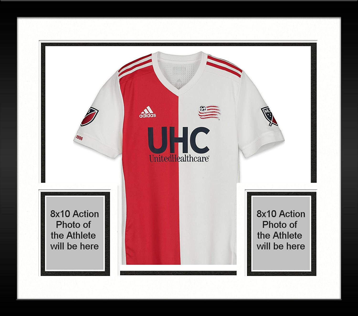f264b18c3 Framed Scott Caldwell New England Revolution Autographed Match-Used White  6  Jersey vs. LAFC on September 15