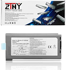 ZTHY Laptop Battery Replacement for Panasonic Toughbook Cf-30 Cf-31 Cf-53 Series CF-VZSU46S CF-VZSU46U CF-VZSU46 Cf-VZSU46AU Cf-VZSU71U Cf-VZSU72U Cf-VZSU1430U 10.65V 9Cell