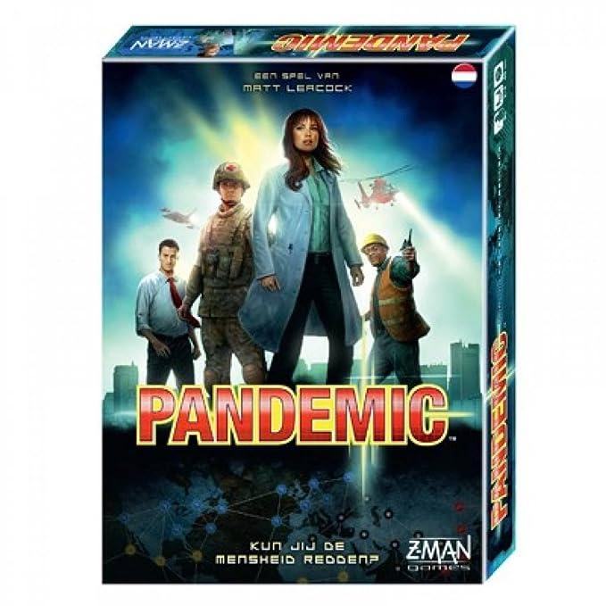 Z-Man Games Pandemic Niños y Adultos Viajes/Aventuras - Juego de ...