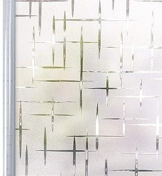 Homein Milchglasfolie Fensterfolie Milchglas Duschkabinen Blickdicht Folie  Fenster Selbstklebend Sichtschutzfolie Sichtschutz Statisch Haftend für ...