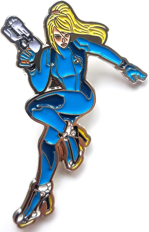 Zero Suit Samus Aran Metroid Pin