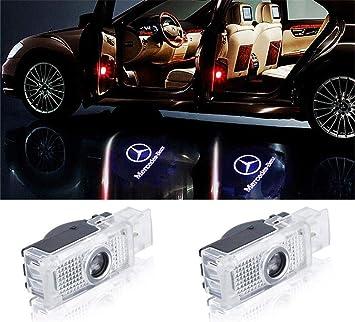 IIuminación LED Proyector láser Door Logo luz de proyección ...