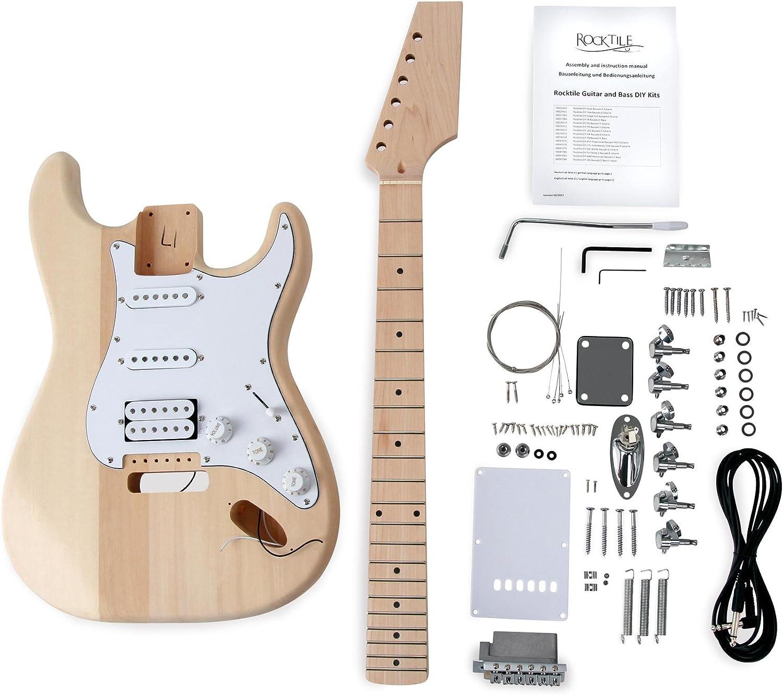 Rocktile TL-Design E-Gitarre Bausatz selber bauen Do It Yourself Kit DIY Set