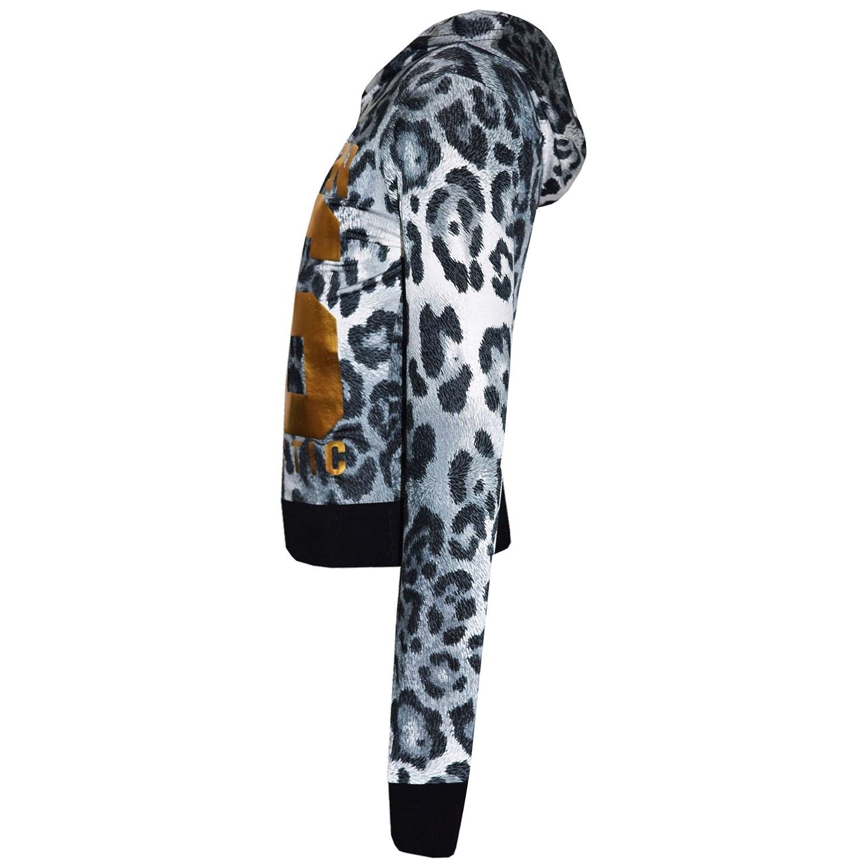 A2Z 4 Kids/® Girls Top Kids Designers Brooklyn New York 76 Athletic Print Trendy Hooded Crop Top /& Fashion Legging Lounge Wear Set Age 7 8 9 10 11 12 13 Years