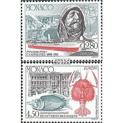 monaco 2178-2179 (complète.Edition.) 1994 Europe: découvertes et Erfindunge (Timbres pour les collectionneurs)