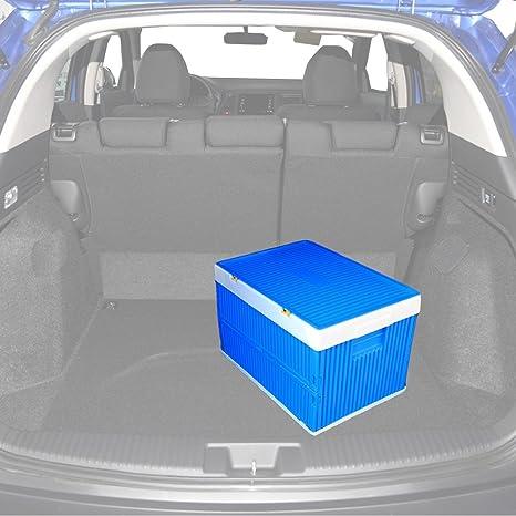 Amazoncom Car Trunk OrganizerCollapsible Folding Plastic Storage