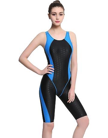 65c419085e612 Modeokker Fashion Women Ladies One Piece Racer Legsuit Muscleback Sports  Swimsuit