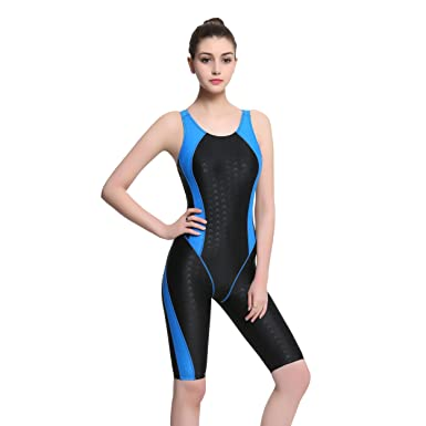 how to choose wide selection of colours and designs attractive colour Modeokker Fashion Women Ladies One Piece Racer Legsuit Muscleback Sports  Swimsuit