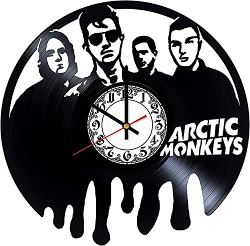 Arctic Monkeys Handmade Music Handmade Vinyl Record Wall Clock