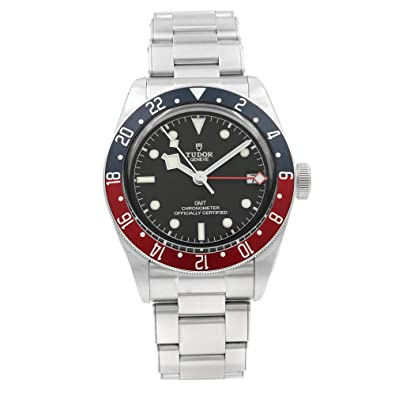Mens Tudor Black Bay Gmt Red Blue Pepsi M79830rb 0001 Watch