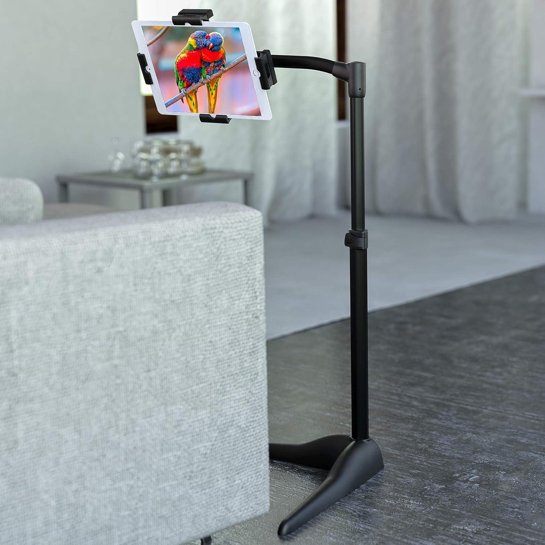 Amazon.com: LEVO G2 Essential Tablet Floor Stand Tablet PCs, iPads, iPad  Mini, New iPad Pro, Galaxy, Nexus, Xoom, Surface Pro, Miix, Nook, Fire, ...