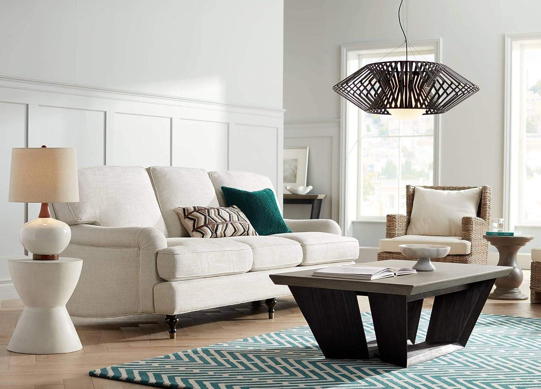 Possini Euro Planet 31 1 2 W Black Finish Modern Chandelier – Possini Euro Design