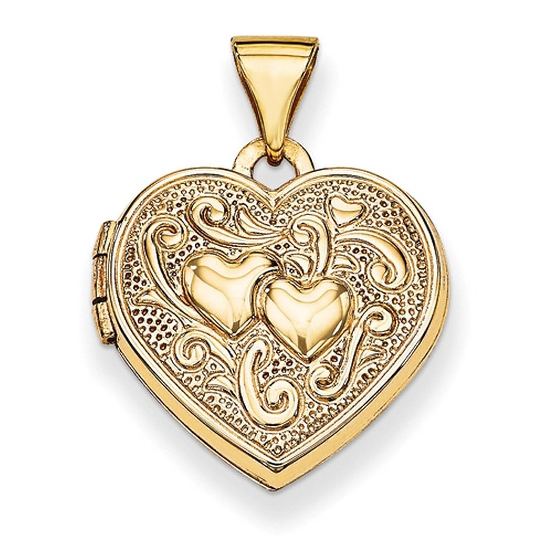 IceCarats® Designer Jewelry 14K Heart Locket