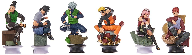 OLIA DESIGN OliaDesign Naruto Doll Sasuke Gaara Shikamaru Kakashi Sakura Naruto Anime Toys Collection Set of 6
