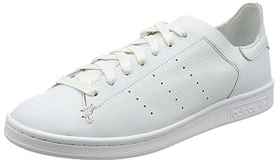 adidas Stan Smith Lea Sock, Chaussures de Sport Homme - Différents Coloris - Multicolore (Ftwbla/Ftwbla/Ftwbla), 44 EU