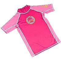 Surfit Girl'S Plain - Camiseta para niña