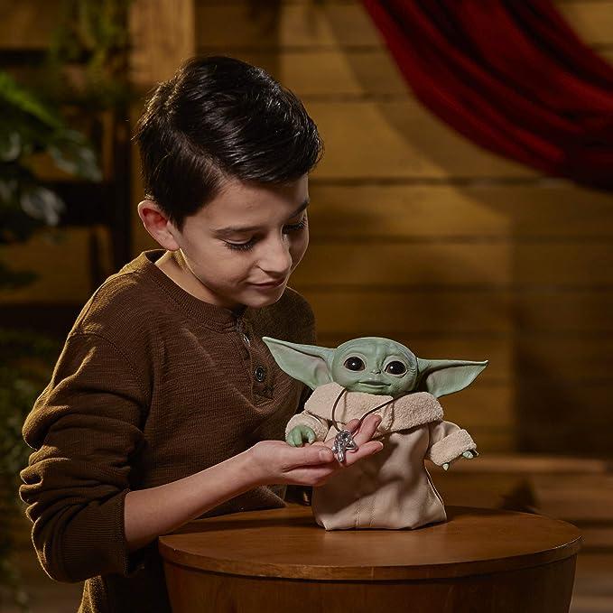 Hasbro Star Wars THE MANDALORIAN THE CHILD Animatronic Edition Doll GROGU