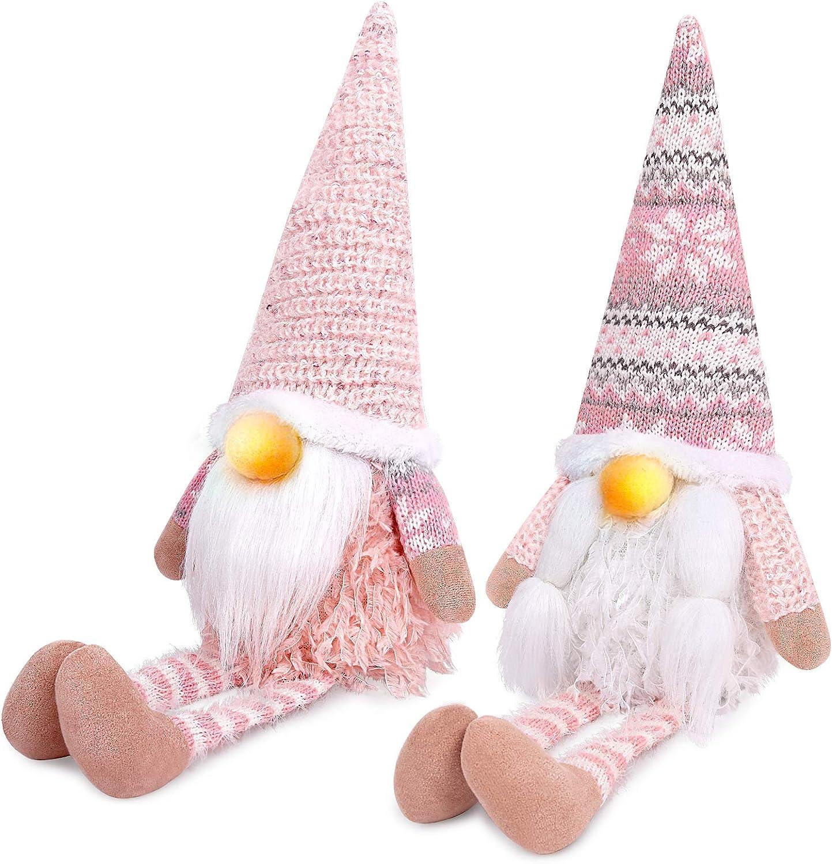 needle felting gnome decor wool felt unique gnome gift valentine gift soft sculpture Pink gnome ornament magic garden fantasy home decor