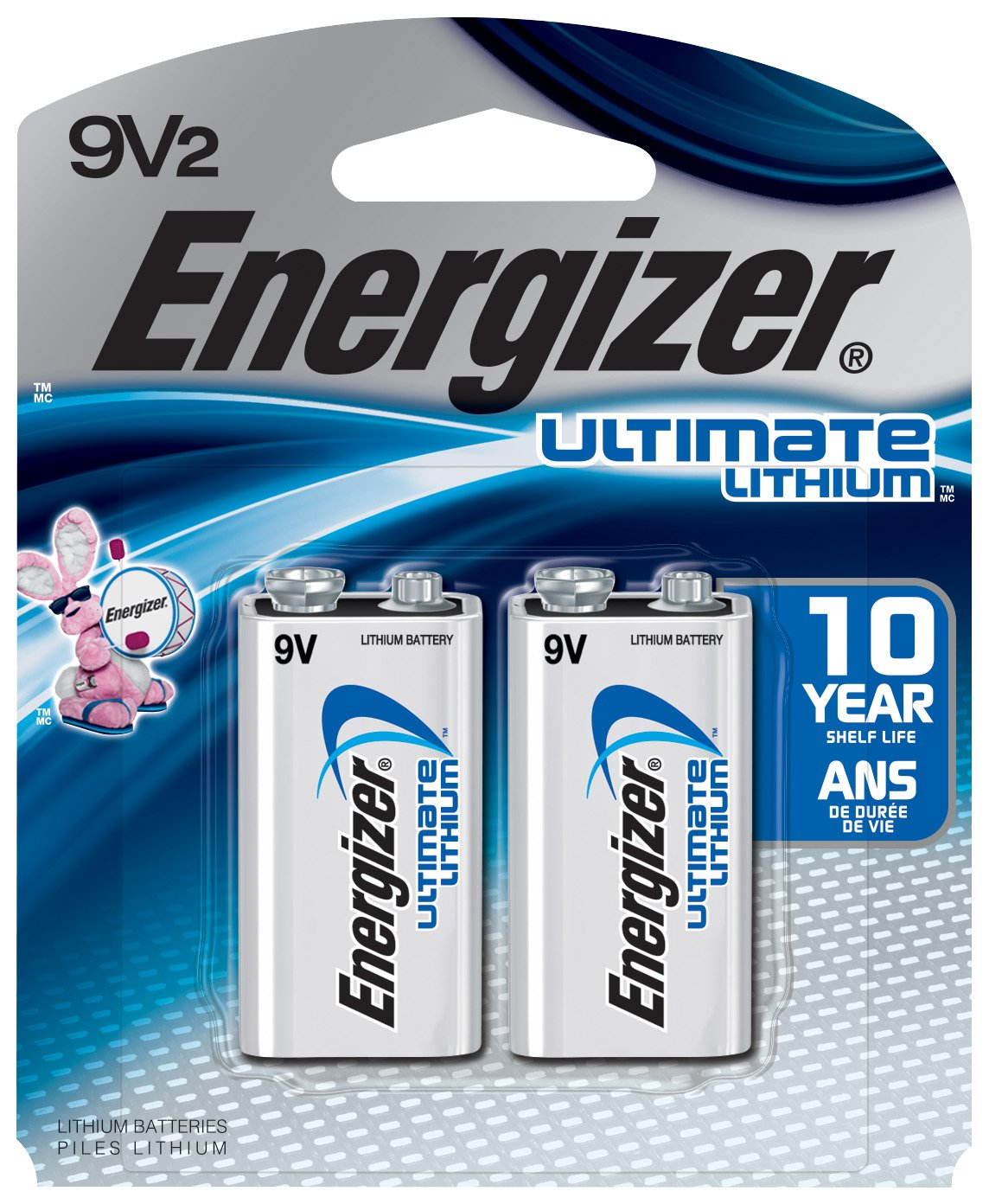Amazon Com Energizer La522sbp 9v Lithium Battery For